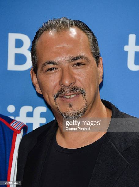 Actor Glen Gould of 'Rhymes For Young Ghouls' speaks onstage at the 'First Peoples Cinema' Press Conference at the 2013 Toronto International Film...