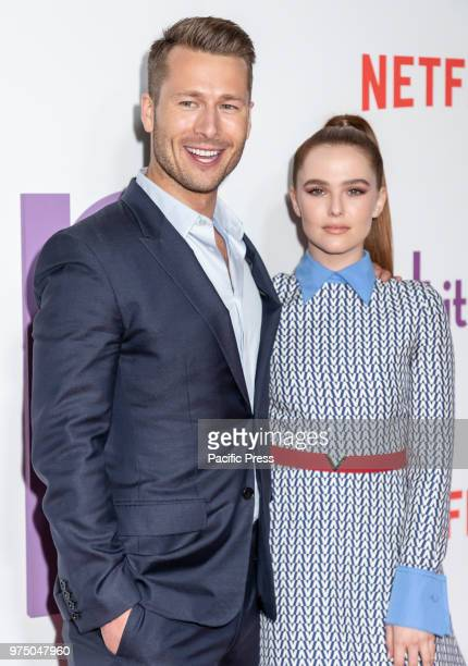 Actor Glen Powell and actress Zoey Deutch attend the New York special screening of the Netflix film 'Set It Up' at AMC Loews Lincoln Square