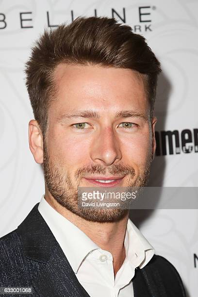Actor Glen Powell arrives at the Entertainment Weekly celebration honoring nominees for The Screen Actors Guild Awards at the Chateau Marmont on...