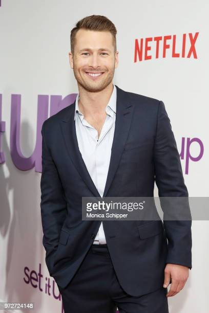 Actor Glen Powell attends a special screening of the Netflix film Set It Up at AMC Lincoln Square Theater on June 12 2018 in New York City
