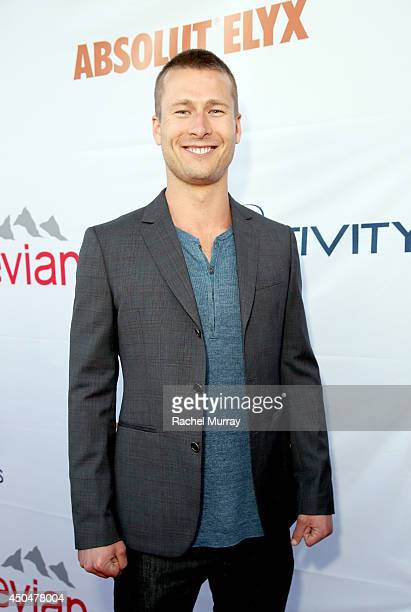 Actor Glen Powell attends PATHWAY TO THE CURE A fundraiser benefiting Susan G Komen presented by Pathway Genomics Relativity Media and evian Natural...