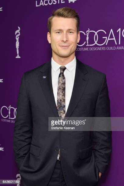 Actor Glen Powell attends The 19th CDGA with Presenting Sponsor LACOSTE at The Beverly Hilton Hotel on February 21 2017 in Beverly Hills California