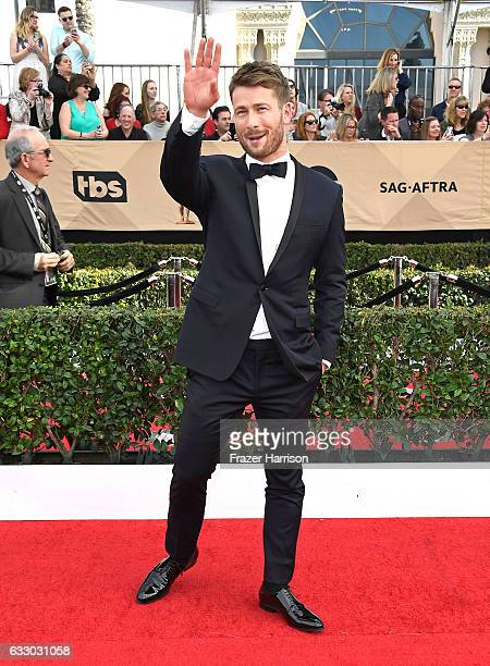 Actor Glen Powell attends The 23rd Annual Screen Actors Guild Awards at The Shrine Auditorium on January 29 2017 in Los Angeles California 26592_008