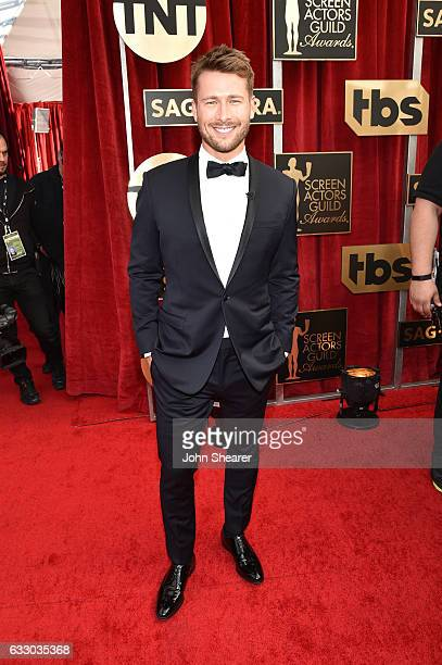Actor Glen Powell attends The 23rd Annual Screen Actors Guild Awards at The Shrine Auditorium on January 29 2017 in Los Angeles California