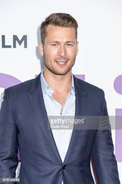 Actor Glen Powell attends the New York special screening of the Netflix film 'Set It Up' at AMC Loews Lincoln Square