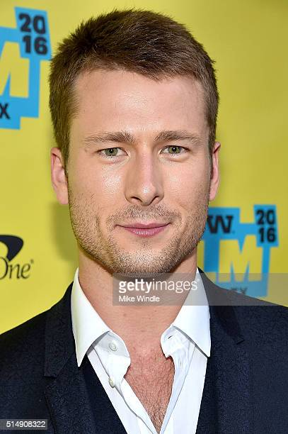 Actor Glen Powell attends the screening of Everybody Wants Some during the 2016 SXSW Music Film Interactive Festival at Paramount Theatre on March 11...