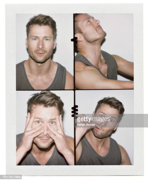 Actor Glen Powell is photographed on August 27 2017 in Los Angeles California