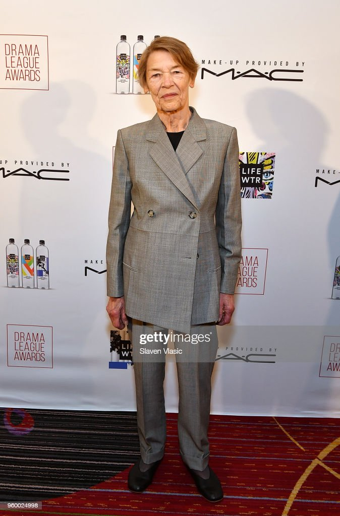 Actor Glenda Jackson attends 84th Annual Drama League Awards at Marriott Marquis Times Square on May 18, 2018 in New York City.