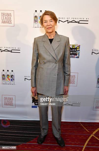 Actor Glenda Jackson attends 84th Annual Drama League Awards at Marriott Marquis Times Square on May 18 2018 in New York City