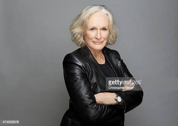 Actor Glenn Close is photographed for Entertainment Weekly Magazine on January 25 2014 in Park City Utah