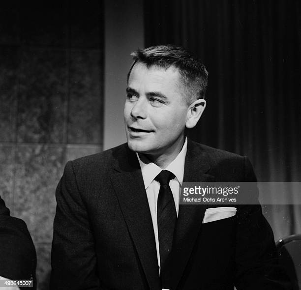 Actor Glenn Ford attends the Oscar Nominations in Los Angeles California
