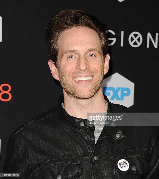 Actor Glenn Howerton attends the premiere of 'Legion' at Pacific Design Center on January 26 2017 in West Hollywood California