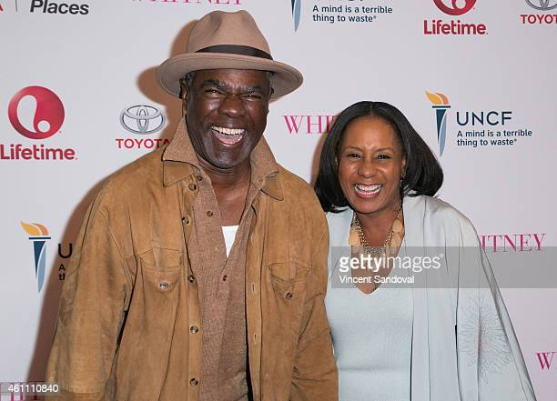 Actor Glynn Turman and JoAn Turman attend the world premiere of Lifetime's 'Whitney' at The Paley Center for Media on January 6 2015 in Beverly Hills...