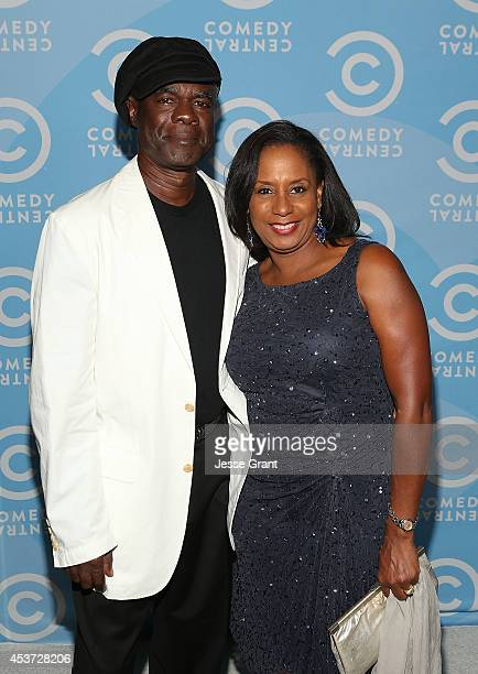 Actor Glynn Turman and JoAnn Allen attend the Comedy Central Creative Arts Emmy Party at Boulevard 3 on August 16 2014 in Hollywood California