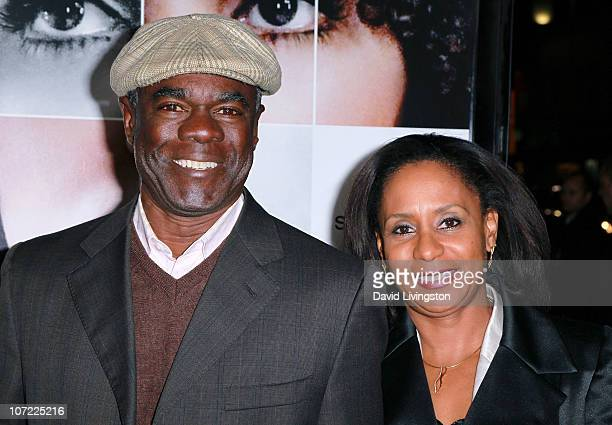 Actor Glynn Turman and JoAnn Allen attend the premiere of Frankie and Alice at the Egyptian Theatre on November 30 2010 in Hollywood California