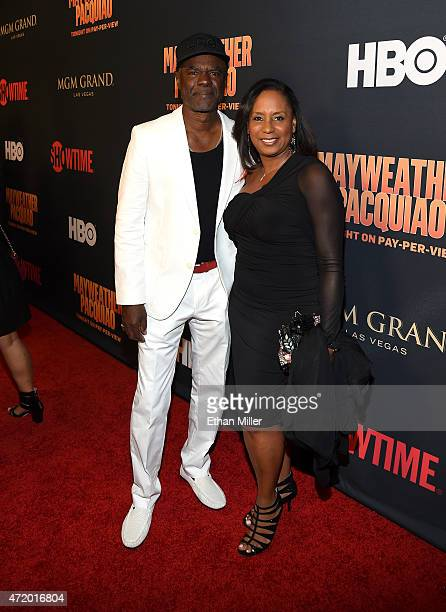 Actor Glynn Turman and JoAnn Allen attend the SHOWTIME And HBO VIP PreFight Party for Mayweather VS Pacquiao at MGM Grand Hotel Casino on May 2 2015...