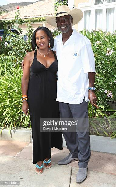 Actor Glynn Turman and wife JoAnn Allen attend the Reed for Hope Foundation's 11th Annual Sunshine Beyond Summer celebration at a private residence...