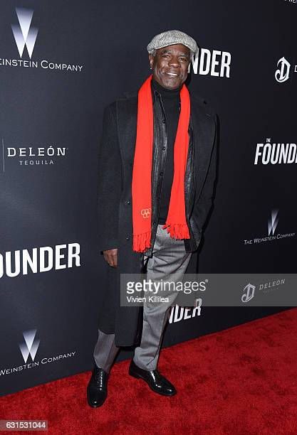 Actor Glynn Turman attends 'The Founder' US Premiere Presented By DeLeon Tequila on January 11 2017 in Los Angeles California