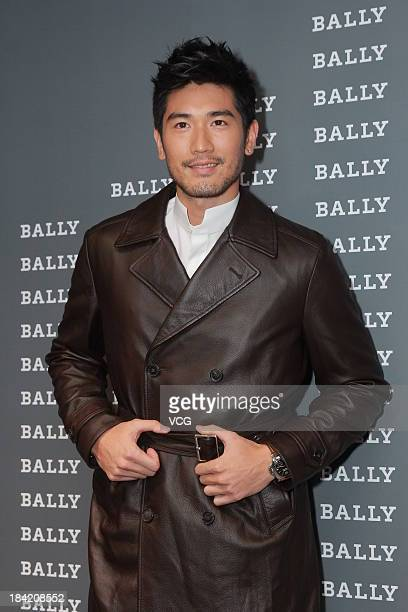 Actor Godfrey Gao attends Bally cocktail party to celebrate the 60th Anniversary of the Everest Ascent at Hong Kong Academy for Performing Arts on...