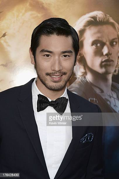 Actor Godfrey Gao attends the premiere of Screen Gems Constantin Films' The Mortal Instruments City of Bones at ArcLight Cinemas Cinerama Dome on...