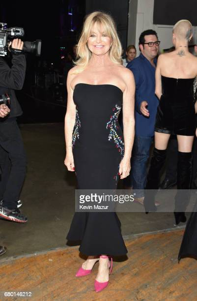 Actor Goldie Hawn attends the 2017 MTV Movie And TV Awards at The Shrine Auditorium on May 7 2017 in Los Angeles California
