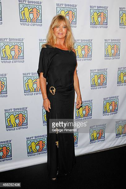 Actor Goldie Hawn attends the Best Buddies Toronto Gala2014 Toronto International Film Festival at The Carlu on September 10 2014 in Toronto Canada