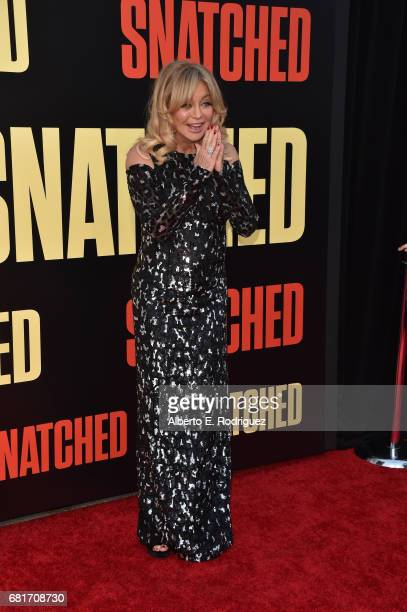 Actor Goldie Hawn attends the premiere of 20th Century Fox's Snatched at Regency Village Theatre on May 10 2017 in Westwood California