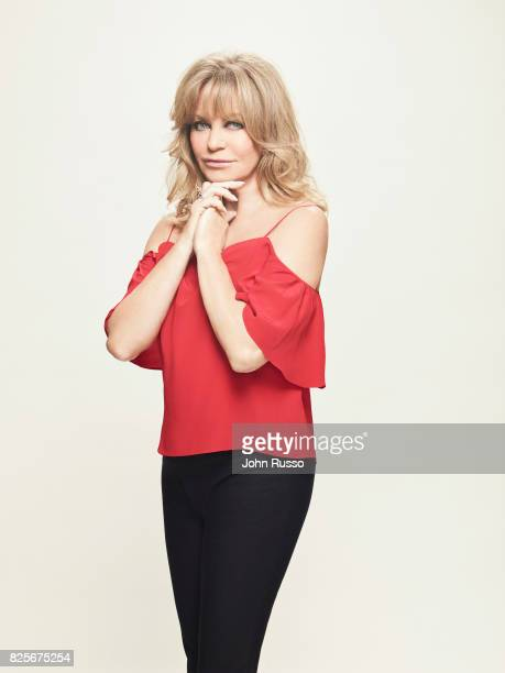 Actor Goldie Hawn is photographed for 20th Century Fox Press Shoot on February 24 2017 in Los Angeles California