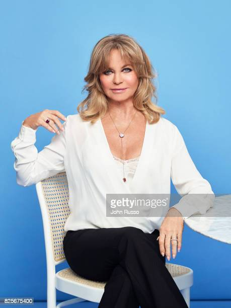 Actor Goldie Hawn is photographed with Goldie Hawn for 20th Century Fox Press Shoot on February 24 2017 in Los Angeles California