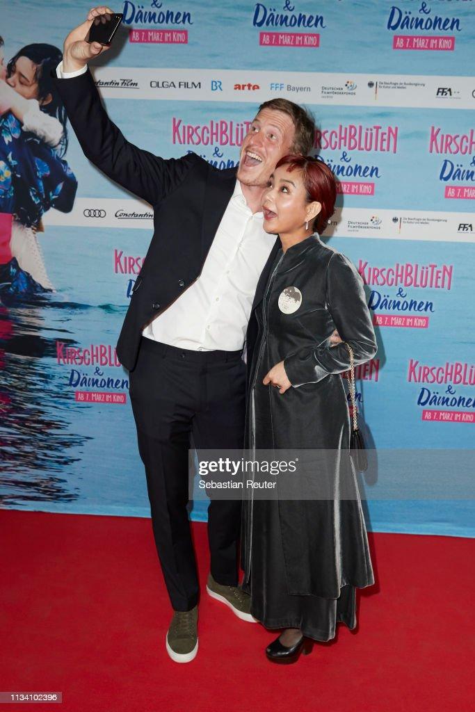 "DEU: ""Kirschblueten & Daemonen"" Family & Friends Premiere In Berlin"