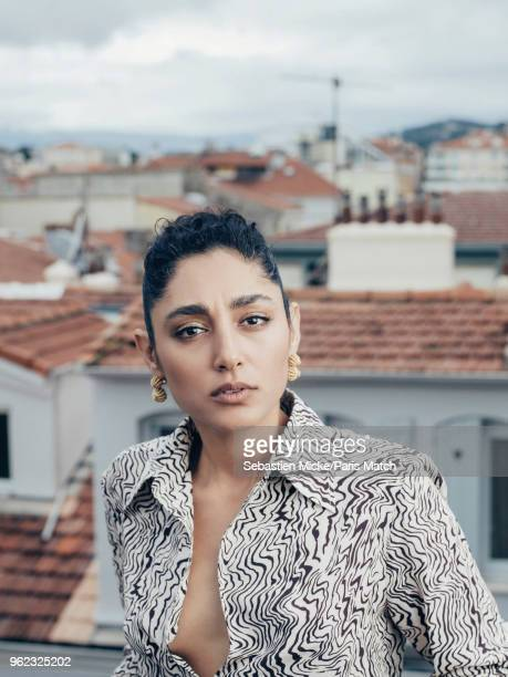 Actor Golshifteh Farahani is photographed at the 71st Cannes Film Festival for Paris Match on May 13 2018 in Cannes France