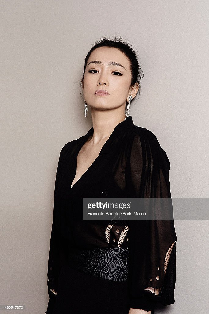 Gong Li, Paris Match Issue 3421, December 17, 2014