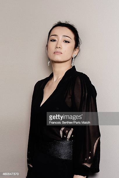 Actor Gong Li is photographed for Paris Match on May 20 2014 in Cannes France