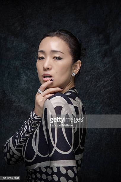 Actor Gong Li is photographed for the Hollywood Reporter in Cannes France