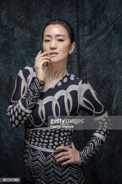 Actor Gong Li is photographed in Cannes France