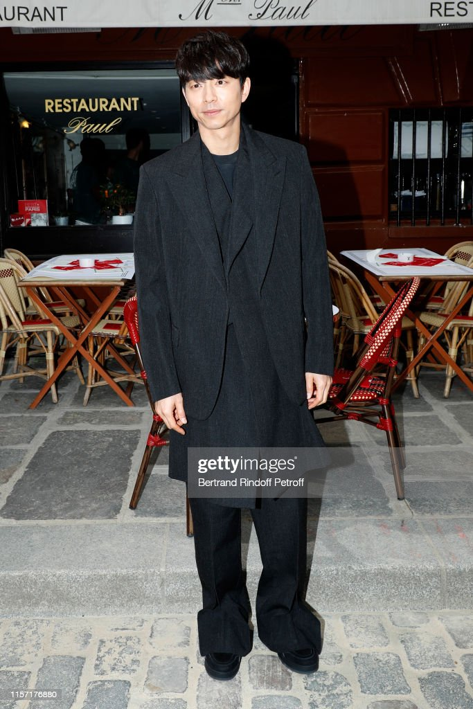 The Gong Show 2020.Actor Gong Yoo Attends The Louis Vuitton Menswear Spring