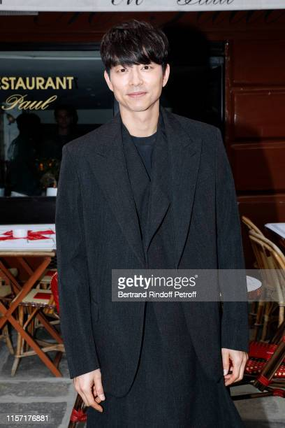 Actor Gong Yoo attends the Louis Vuitton Menswear Spring Summer 2020 show as part of Paris Fashion Week on June 20 2019 in Paris France