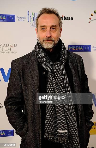 Actor Gonzalo de Castro attends 'Jose Maria Forque' Awards 2011 ceremony at the Palacio de Congresos on January 17 2011 in Madrid Spain