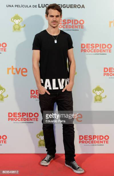 Actor Gonzalo Ramos attends the 'Despido procedente' photocall at Callao cinema on June 29 2017 in Madrid Spain