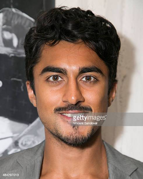 Actor Gopal Divan attends the Guys Reading Poems fundraiser at V Wine Bar on April 11 2014 in West Hollywood California