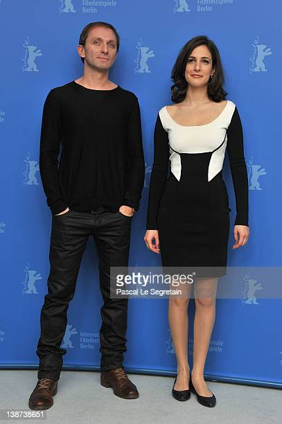 Actor Goran Kostic and actress Zana Marjanovic attend the In The Land Of Blood And Honey Photocall during day three of the 62nd Berlin International...