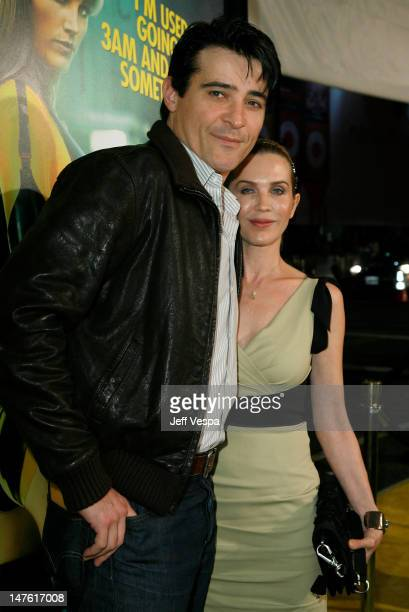 Actor Goran Visnjic and Ivana Vrdoljak arrive at the premiere of Watchmen held at Grauman's Chinese Theatre on March 2 2009 in Hollywood California