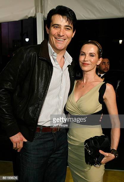 """Actor Goran Visnjic and Ivana Vrdoljak arrive at the premiere of """"Watchmen"""" held at Grauman's Chinese Theatre on March 2, 2009 in Hollywood,..."""