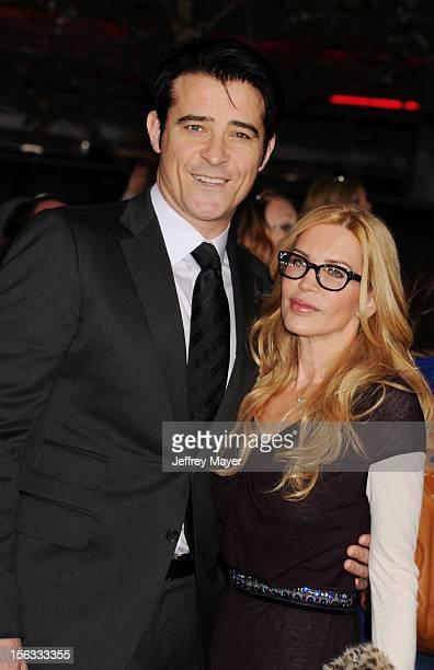 Actor Goran Visnjic and Ivana Vrdoljak arrive at 'The Twilight Saga: Breaking Dawn - Part 2' Los Angeles premiere at Nokia Theatre L.A. Live on...