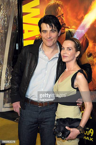 """Actor Goran Visnjic and Ivana Vrdoljak at the premiere of """"Watchmen"""" at Grauman's Chinese Theater in Hollywood."""