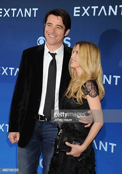 Actor Goran Visnjic and Ivana Vrdoljak attend the Premiere Of CBS Films' 'Extant' at California Science Center on June 16 2014 in Los Angeles...