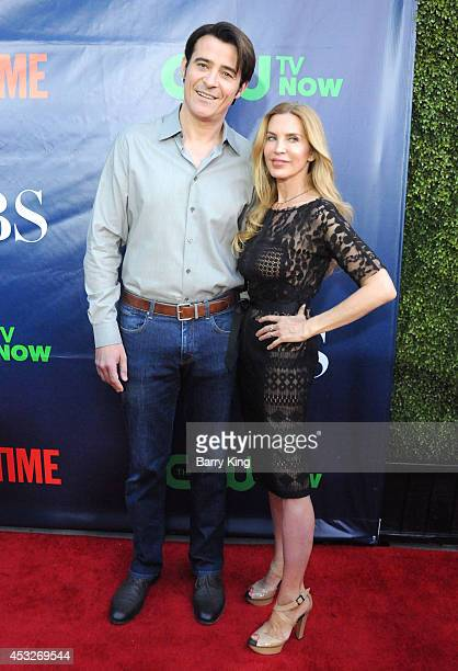 Actor Goran Visnjic and wife Ivana Vrdoljak arrive at the CBS, The CW, Showtime & CBS Television Distribution 2014 Television Critics Association...