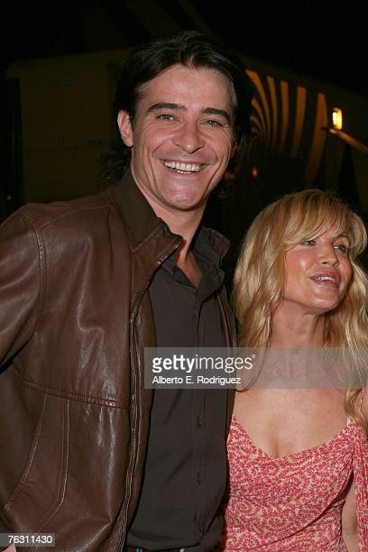"""Actor Goran Visnjic and wife Ivana Vrdoljak at the opening night of Cirque du Soleil's """"Corteo"""" on August 23, 2007 in Los Angeles, California."""