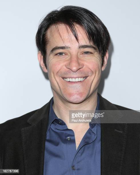 Actor Goran Visnjic attends a dinner to celebrate ABC's new series Red Widow at Romanov Restaurant Lounge on February 26 2013 in Studio City...