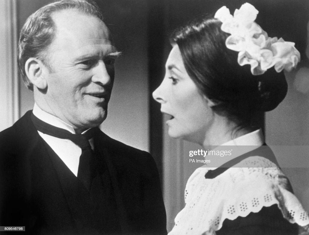 Actor Gordon Jackson As Butler Hudson And Jean Marsh Parlour Maid Rose Buck In